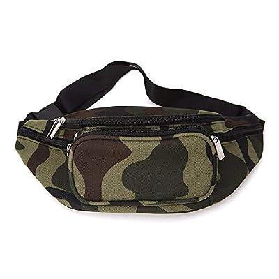 Lessonmart Fashion Men Women Wear-Resistant Waist Belt Bag Casual New Pocket Slingshots Leisure Bag THINKTHENDO