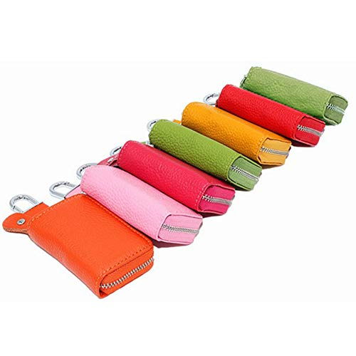 8402d21cdfaa Interior Decoration Keychain Car Key Wallet Key Holder Organizer Keychain  Zipper Key Case Bag Pouch Purse Zip, Card Holder, Pure Color, Coin Purse,  ...