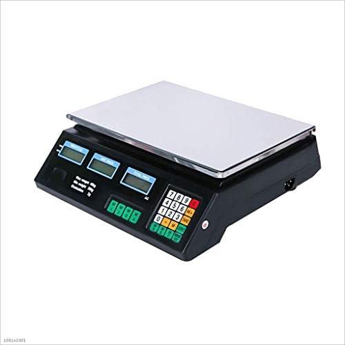 MTFZD Hoch Präzision Digital Elektronisch Wiegen Industrie Waage, 0,2 G / 40 Kg Preis Waage Plattform Waage Grün...