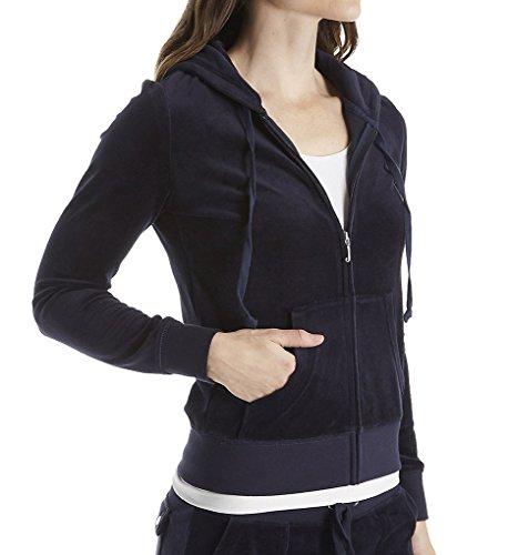 Juicy Couture Black Label Women's Velour Robertson Jacket, Regal, ()