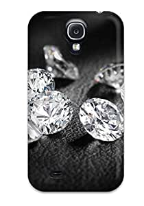 High Impact Dirt/shock Proof Case Cover For Galaxy S4 (diamonds)