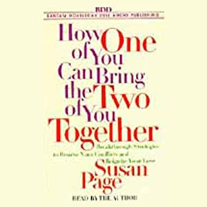 How One of You Can Bring the Two of You Together Audiobook