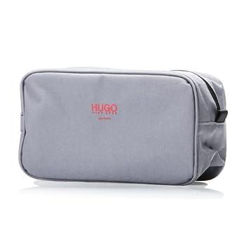 0285030cae Amazon.com   Hugo Boss Toiletry Bag Gray   Beauty
