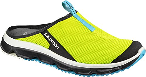 Blue Yellow Black Slide Trail Jaune Chaussures de Safety Homme Salomon 3 Fluo RX Bird 0 CxOPTSB