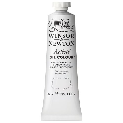 Winsor & Newton Artists Oil Color Paint Tube, 37ml, Iridescent White