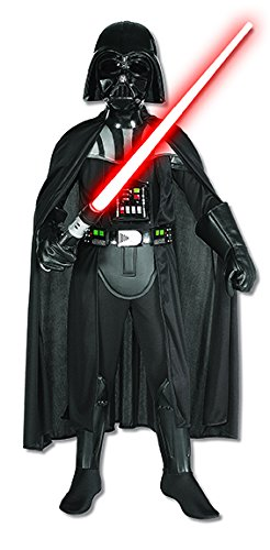 Star Wars Darth Vader Deluxe Child Costume, -