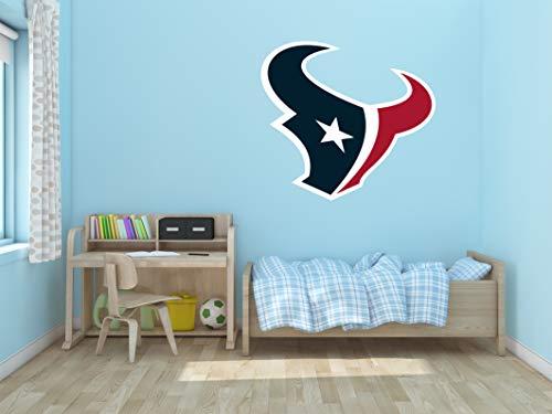 Ottosdecal American Football Team Wall Decal Vinyl Sticker for Home Interior Decoration Bedroom, Laptop, Window, Mirror, Car (45