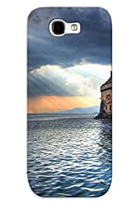 Durable Protector Case Cover With Chillon Castle Hot Design For Galaxy Note 2
