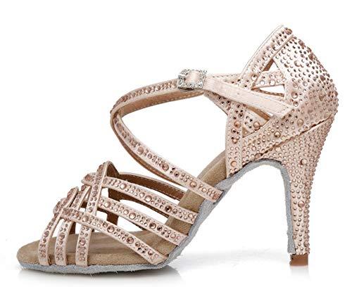 Gold 8 Heel 5cm Sala Da Donna Minitoouk l357 Minitoo qz7FH