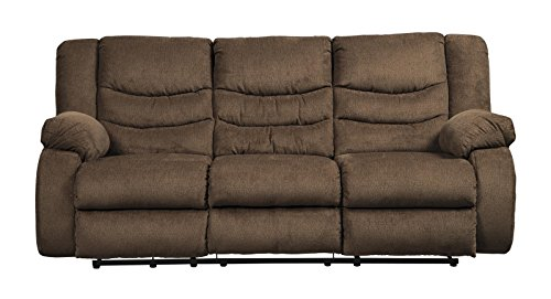 - Signature Design by Ashley 9860588 The The Tulen Reclining Sofa, Chocolate
