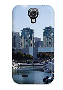 BEqbJvf2756IMflg Case Cover San Diego City Galaxy S4 Protective Case