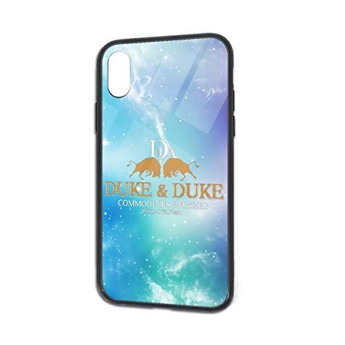 Zuzuzj Trading Places Duke and Duke (1) Phone Case for iPhone X TPU Glass