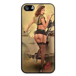 Diabloskinz Pin-Up Holly - Carcasa para iPhone 5/5S