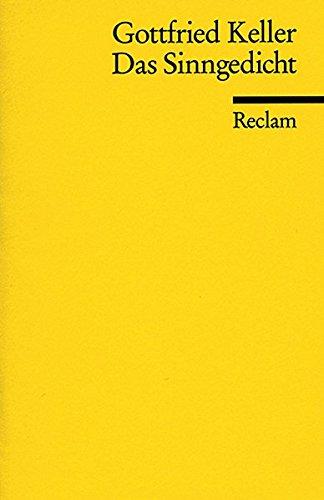 Das Sinngedicht: Novellen (Reclams Universal-Bibliothek)
