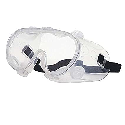 Ironwear Union 3925 Series PVC Protective Safety Goggles with Adjustable Elastic Headband Indirect Vents /& Anti-Fog Clear Lens 3925-A