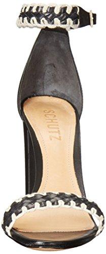 vestido sandalias la mujer Floriza SCHUTZ Negro de 5EFaqnxA