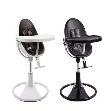 Incroyable Bloom Fresco Chrome Contemporary High Chair Noir/Midnight Black