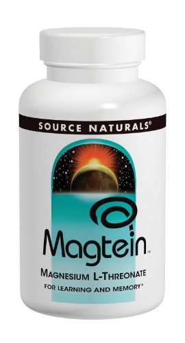 Source Naturals Magtein Magnesium L-Threonate for Learning and Memory