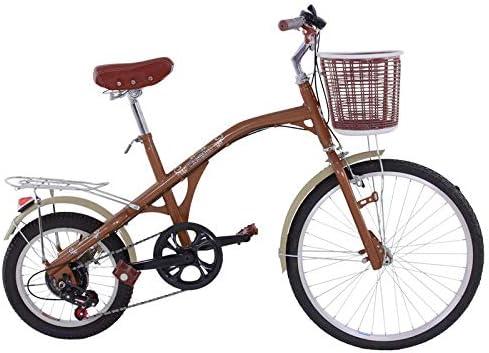 Riscko Wonduu Bicicleta Retro Adulto Bep-15 Marrón: Amazon.es ...