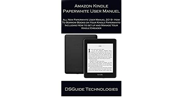 Amazon Kindle Paperwhite User Manuel All New Paperwhite User ...