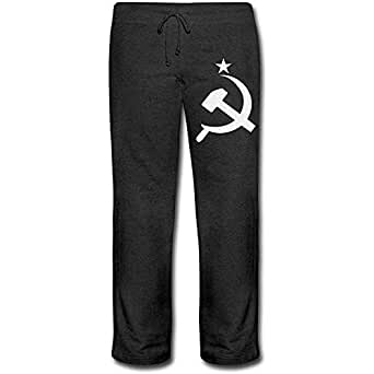 Bu-BY Pantalones de chándal rusos CCCP Hammer para Mujer, cómodos ...
