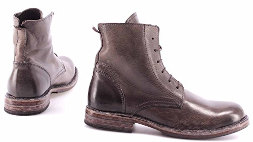 MOMA Scarpe Stivaletto Donna Ankle Boots 79604-Y2 Carmen Dark Grey Vintage Italy