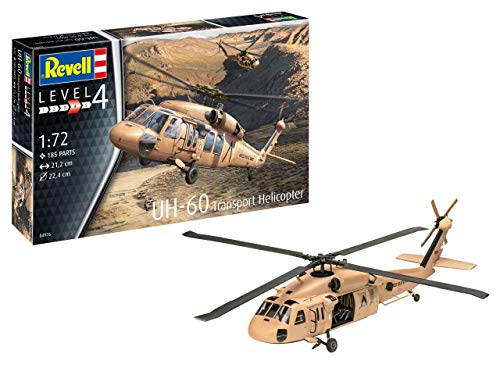 Revell 04976, UH-60 Helicopter, 1:72 Scale Plastic Model kit
