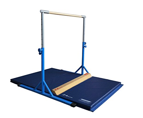 Z-Athletic Expandable Kip Bar Mat and Attachable Beam Gymnastics Equipment