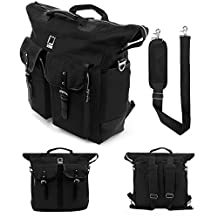 Lencca Premium Backpack Carrying Shoulder Bag for HP Elite / Envy / Pro / Pavilion / Omni / 10 / Dragon / Microsoft Surface / iRULU / Tagital Fit up to 12.2 inch Tablet Convertibles Book