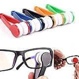 Elevin(TM)  Glasses Sunglasses Eyeglass Spectacles Cleaner Cleaning Brush Wiper Wipe Kit