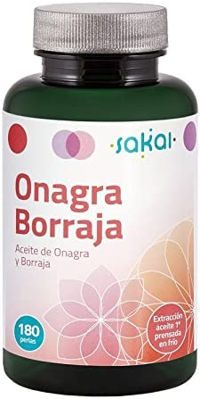 Sakai Onagra y Borraja Complemento Alimenticio - 180 Cápsulas ...
