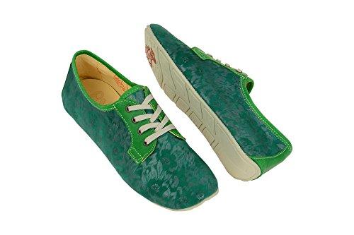 classica Donna 1 Green Stringata Eject18297 Verde qZB6OStw