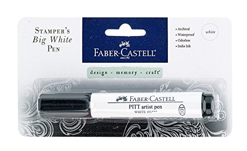 Faber-Castell Stamper's Big Brush Pen - Opaque White from Faber Castell