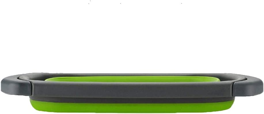 Sp/üle Vegtable//Obst K/üche Sieb Teesieb mit ausziehbaren Griffen KINJOHI Sieb f/ür die Sp/üle mit ausziehbaren Griffen zusammenklappbar Faltbare Seiher Sieb