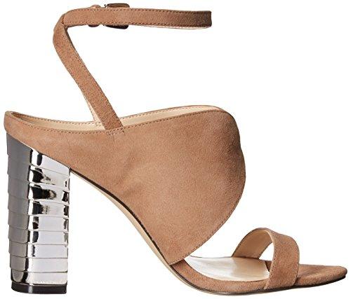 Nine West Women's Octavia Suede Dress Sandal Natural 4y8PJZw3OE