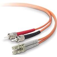 BELKIN Belkin 10 Gig Aqua - Patch cable - LC/PC multi-mode (M) - ST/PC multi-mode (M) - 6.6 ft - fiber optic - 50 / 125 micron - aqua - B2B / F2F402L0-02M-G /