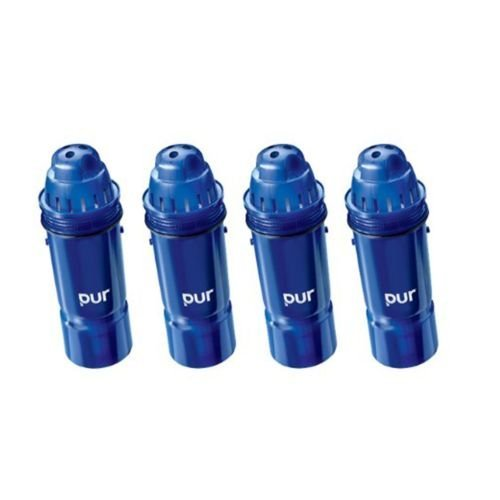 UPC 802200445328, Hot,PUR 2-Stage Water Pitcher Replacement Filter, 4-Pack, New