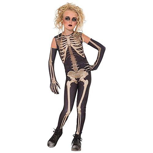 Drama Queens Skelee Girl Costume, (Dead Doll Costume Halloween)