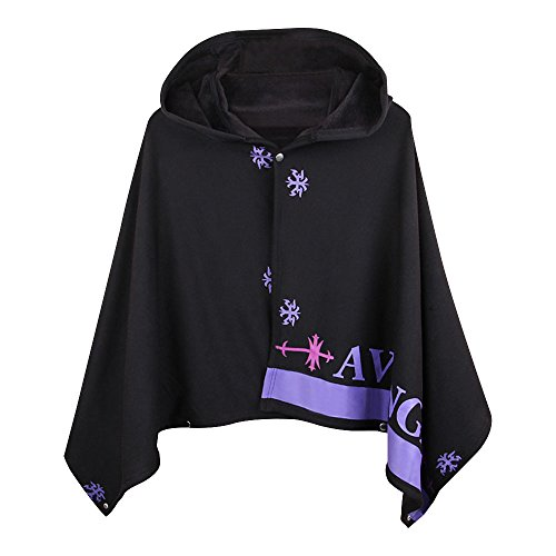 KINOMOTO FGO Cape Anime Cosplay Costume Flannel Cloak Hoodie for Cosplay (Order Cosplay)