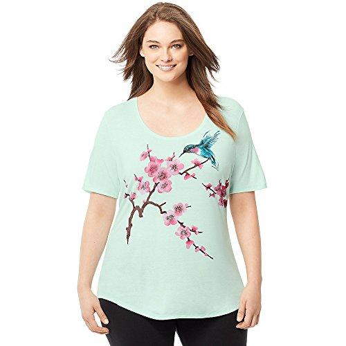 Corte Green My Maniche Just T Opaline Size shirt Donna nSvnXAF