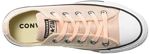 Converse Unisexe Brillante black Taylor Coral Chuck Femme Basket All Basse Washed white Star Toile 1pwr1qEW