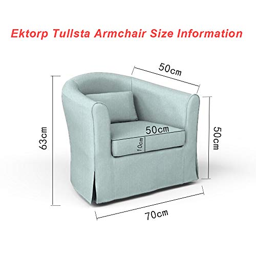 Pleasing Amazon Com Tly Cotton Tullsta Armchair Cover For The Ikea Ncnpc Chair Design For Home Ncnpcorg