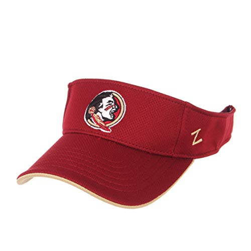 ZHATS NCAA Florida State Seminoles Men's TC Volley Visor, Adjustable, Cardinal ()