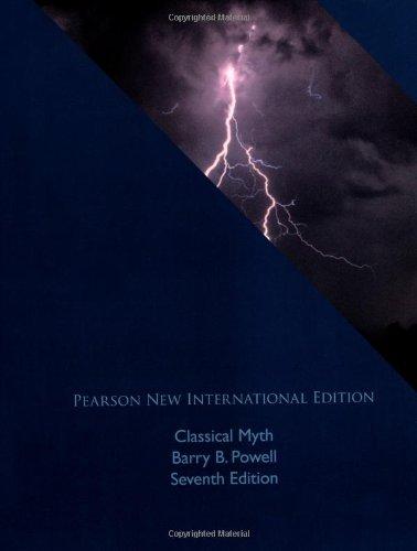 Classical Myth: Pearson New International Edition
