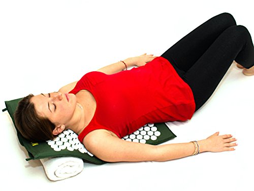 Nayoya Acupressure Mat for At Home Back Pain Relief