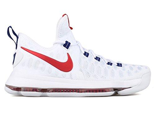 Nike basketball Red Sport Chaussures Kd Homme 9 Zoom Blanco De university white blanco rnUTxr
