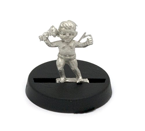 for 28mm Scale Table Top War Games Stonehaven Dwarf Baby Miniature Figure Made in USA Stonehaven Miniatures