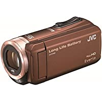 Victor Everio (Everio) HD memory video camera 32GB Brown GZ-F100-T