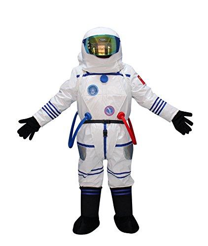 Sinoocean Astronaut Spaceman Space Man Adult Mascot Costume Fancy Dress Cosplay -