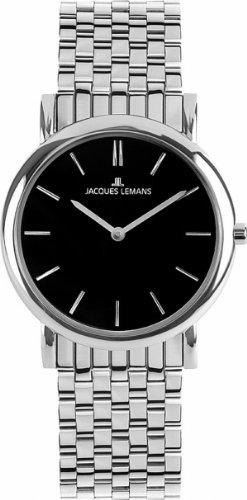 Jacques Lemans Vienna 1-1371I 31mm Steel Bracelet & Case Mineral Women's Watch